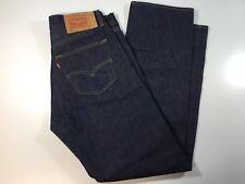 Levi's 501 Straight Leg Button Fly Men's  Blue Jeans Sz 32 x 32
