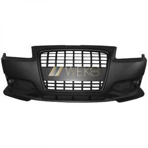 für Audi A3 Bj. 96-03 Stoßstange vorne, Sportstoßstange mit schwarzem Grill