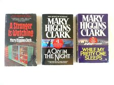 Mary Higgins Clark Lot-A Stranger, A Cry in the Night, Why My Pretty One Sleeps