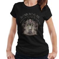 Doctor Who Weeping Angel Tim Burton Dont Blink Women's T-Shirt