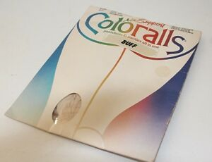 Vintage 1985 Coloralls Sandalfoot Pantyhose Panties all in one Sealed Buff C D