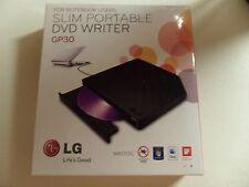 LG Slim Portable DVD Writer M Disc GP30NB40