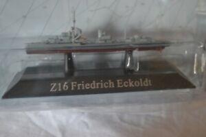 Atlas/De Agostini Kriegsschiefe 1/1250 Zerstorer 1934A  Z16 Friedrich Eckoldt 32
