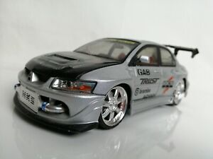 KenToys 1:24 MITSUBISHI EVOLUTION VIII Lancer Evo 8 Silver
