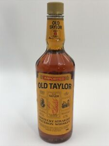 OLD TAYLOR 6 YEARS IMPORTED OLD KENTUCKY STRAIGHT WHISKEY BOURBON 40% 75cl. 1987