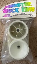 A&L Tamiya Front Wheels for Monster Truck Conversions 2.2 Blackfoot Lunchbox