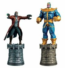 MARVEL CHESS FIG MAG SPECIAL #3 STAR-LORD & THANOS ALT KINGS #sjan17-591