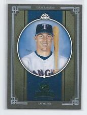 Laynce Nix 2005 Diamond Kings Framed Green Parallel Card Serial #16/50