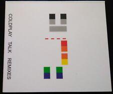 Coldplay - Talk. Remixes (2007, Promo cd, Digipak, 9 tracks) RARE!
