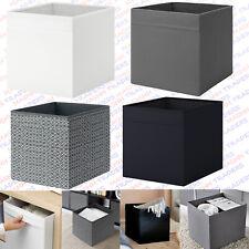ikea Storage Box Drona Canvas Shelf Folding Organiser Expedite Toy Boxes Chest