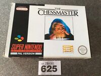 Super Nintendo Snes The Chessmaster Pal Version