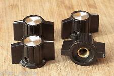 Cuatro Knobs Pedales Potenciometro Botones Ampli 6.35 mm. Knöpfe Boutons Poti