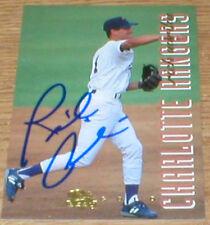 Giants Rich Aurilia Autographed Card