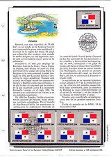Naciones Unidas Nueva York Bandera de Panama año 1981 (AK-961)