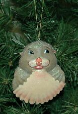 Zooville, Otter Christmas Ornament