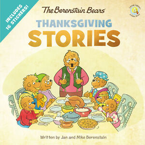 Berenstain Bears Living Lights Thanksgiving Stories with stickers (Paperback)