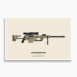 COD - Intervention Illustration Poster; Gaming Poster, Video Game Decor