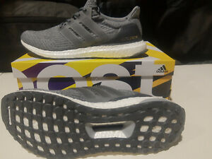 Adidas Ultraboost 3.0 Mystery Grey Running Shoes Mens Size 11.5 TP293