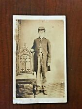 Civil War Photography Cdv Very Young Trooper