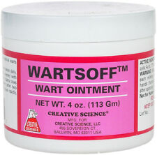Wartsoff Wart Ointment Removal of External Warts from Cattle Horses Goats 4oz
