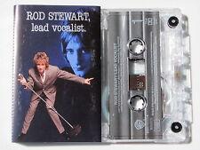 ROD STEWART . LEAD VOCALIST . TAPE . CASSETTE AUDIO . K7