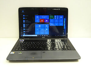 Acer Aspire 7738G, CPU Intel Core 2 Quad - 2GHz, 4GB RAM, 320GB HDD (17,3 Zoll)