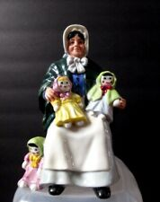 "Royal Doulton Figurine Rag Doll Seller Hn 2944 7"" tall Mint"