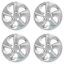 "SET of 4 NEW 15"" Silver Bolt On Hubcaps Wheel Covers for 2013-2015 HONDA CIVIC"