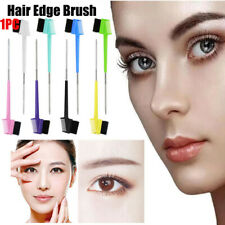 Edge Control Brush Double Sided Comb Eyebrow Hair Brush Smooth Natural JNHB