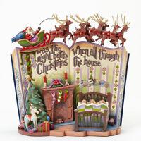 Enesco Jim Shore Heartwood Creek Night Before Christmas Storybook NIB #4041100
