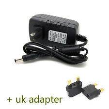 UK Plug AC100-240V to DC 24V 1A Power Supply Charger Converter Adapter 5.5mm