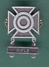 ARMY SHARPSHOOTER BADGE W RIFLE BAR QUALIFICATION