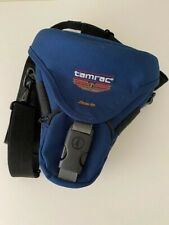 TAMRAC Zoom 16 CAMERA BAG CASE - BLUE - SHOULDER STRAP