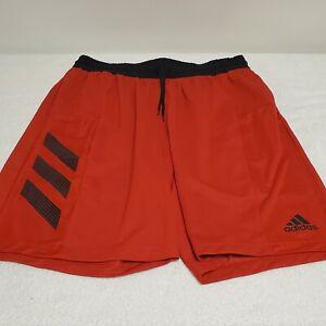 Men's Adidas Basketball Club Athletic Shorts Black Red Sz XL AeroReady  Poly EUC