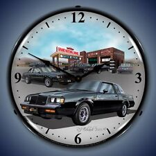 Lighted 1987 Buick GN Clock Profile