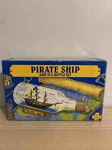 Pirate Ship in a Bottle Kit - Missing Boat See Pictures