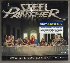 STEEL PANTHER: ALL YOU CAN EAT CD / DVD BEST BUY EXCLUSIVE BRAND NEW