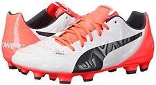 PUMA 1032200t Mens Evopower 4.2 Firm Ground Soccer Shoe FG Size 13 White