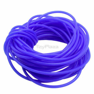 Navy-blue 5x2.5mm Silicone Nitro Fuel Tube 15M for RC Model Airplane Boat Car