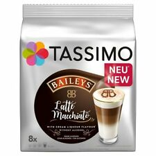 Tassimo Baileys Latte Macchiato Coffee Pods 8 Drinks