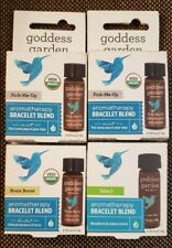 Goddess Garden Organics Lot of 4 Aromatherapy Bracelet Blend - New in Boxes