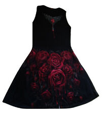 SPIRAL BLOOD RUBY SKATER DRESS size small, official merchandise,alternative