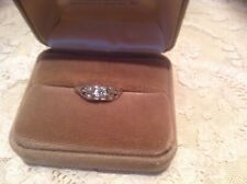 .50 ct Brilliant Cut Diamond Engagement Wedding Ring Solid 18k White Gold Size 8