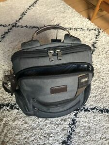 TUMI Alpha Bravo Knox Grey Backpack Excellent Condition