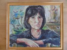 Abstrakte künstlerische Malerei auf Leinwand im Expressionismus-Verkäufer Kunsthändler