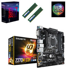 Bundle Intel Core i7 8700K 6x@4,70GHz+Gigabyte Z370M D3H USB3.1-16GB RAM