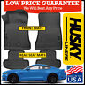 Husky Liners Weatherbeater 2015-2019 Ford Mustang Front/Rear Floor Mats BLACK