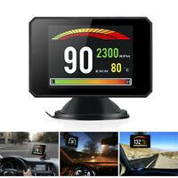 Universal Car GPS HUD Display Overspeed Warn Projector Speedometer Alarm Digital