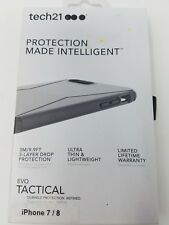 Tech21 Protection Evo Tactical Iphone 7/8 Black