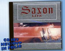 Saxon LIVE Motorcycle Man NEU Machine Gun HEAVY METAL CD mit BAND-INTERVIEW rar